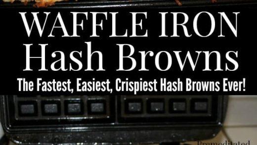 Best Ever Crispy Stove Top Hash Browns · Hidden Springs Homestead