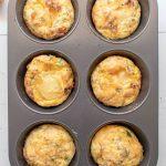 Microwave Muffin Tin Frittatas