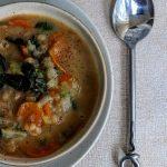 Vegan 'Chicken' Soup, 28p [from 'Veganish'] – Jack Monroe