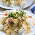 Microwave Chicken a la King - My Recipe Treasures