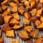Roasted Yams and Sweet Potatoes With Cinnamon - A Healthy Side Dish -  Mirlandra's Kitchen