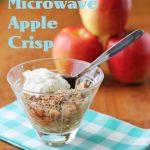 Easy Microwave Apple Crisp | Kitchen Frau