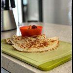 Microwave Vegan — Vegan Bean and Cheese Quesadilla