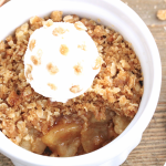 MICROWAVE APPLE CRISP FOR ONE | In Good Flavor | Great Recipes | Great Taste