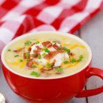 The Easiest Potato Soup Recipe (In A Mug!) - Gemma's Bigger Bolder Baking