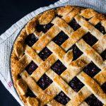Easy Blueberry Pie - Sugar Apron