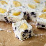 Lemon Blueberry Mascarpone Fudge - Sweet ReciPEAs