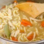 Make Ahead Chicken Noodle Soup