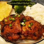 Oven Baked Garlic Butter Chicken Thighs - Table of Laughter