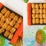 easy cottage pie recipe with Crispy Tater Tots - Foodness Gracious