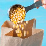 How to Make Popcorn in a Brown Paper Bag in the Microwave