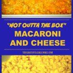 Cheesy Macaroni Pasta Bake - The Bitter Side of Sweet