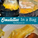 Ziploc Bag Omelet (Eggs in a Hurry)   Easy camping meals, Recipes, Food