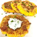 Oven-fried Pattypan Squash Steaks - Fresh Chef Experience