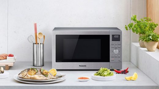 Panasonic NN-CD58JS is a mid-sized convection, grill and microwave oven –  GadgetGuy