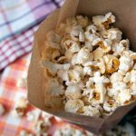 How To Make Popcorn In A Microwave With A Brown Paper Bag - My Fussy Eater  | Easy Kids Recipes