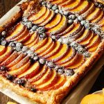 Easy Cream Cheese Puff Pastry with Peaches and Blueberries - What's In The  Pan?