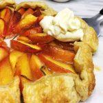 Mini Peach Tarts with Goat Cheese and Honey Recipe - PureWow