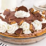 Peanut Butter Chocolate Ice Cream Pie - girl. Inspired.