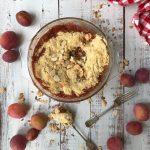 Plum Crumble - tastebotanical - easy warming dessert recipe