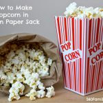 How to Pop Popcorn in a Paper Bag in the Microwave