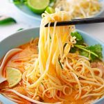 Quick Red Curry Chicken Noodle Soup - Scruff & Steph