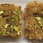RecipeGrabBag: Kalakand Barfi (Ricotta Cheese and Condensed milk - Microwave  recipe)