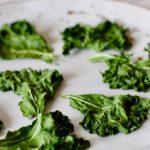 3 Minute Microwave Kale Chips - Cheerful Choices