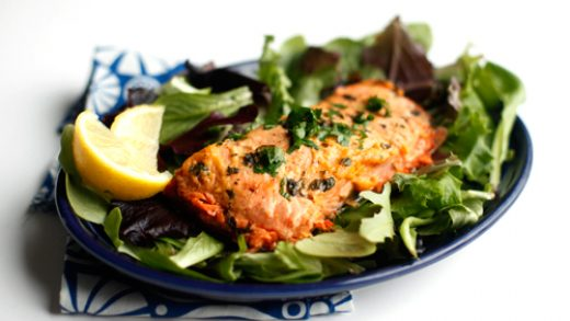 How to Microwave Frozen Salmon