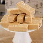 Easy Caramel Fudge - The Lazy Singing Cook