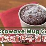 3分鐘微波爐蛋糕Microwave Mug Cake | 點Cook Guide