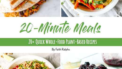 End 2020 with 20 Recipes for 20-minute Meals! Gift idea! • Faithful Plateful