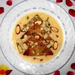 Shahi Tukda Recipe, Shahi Tukra Microwave, Shahi Bread Pudding