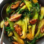 Bok Choy and Shiitake Mushroom Stir Fry - Scruff & Steph