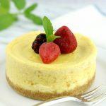 Keto Mug Microwave Cheesecake | KETohh |Low Carb Baked Cheesecake