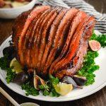 Slow Cooker Ham with Honey Glaze - Host The Toast