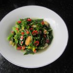 Homegrown Choi Sum with Mixed Seafood | gcl.dunster.nl