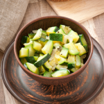 Steamed Zucchini In the Microwave • Steamy Kitchen Recipes Giveaways