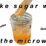 Sugar Wax in the Microwave: Only 3 minutes!😱 – food.panchi.page