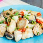 Salt & Pepper King Oyster Mushroom