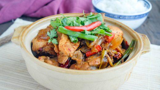 Spicy Chicken Hotpot