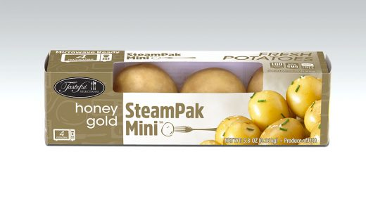 Single-serve package of potatoes that microwaves in just minutes |  2017-10-20 | Refrigerated Frozen Food