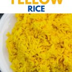 How to Make Instant Pot Yellow Rice - Margin Making Mom®
