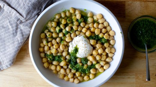 Spiced Chickpeas Made in the Microwave - Gemma's Bigger Bolder Baking
