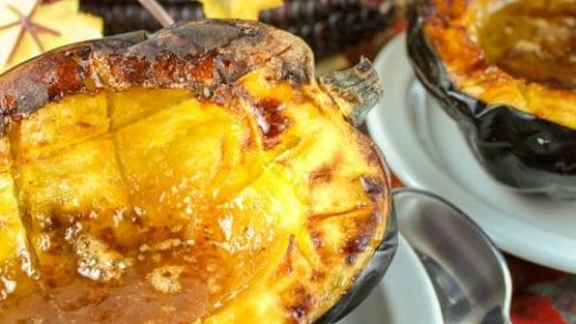 Sausage and Apple Stuffed Acorn Squash – Hangry with a side of Healthy