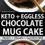 Keto Almond Flour Chocolate Mug Cake (Paleo, Vegan) - The Big Man's World ®