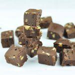 3-Ingredient Salted Pistachio Chocolate Fudge - Wholesome Patisserie