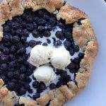 blueberry galette   gluten-free + egg-free   zenbelly