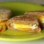 Microwave Egg Breakfast Sandwich / The Grateful Girl Cooks!