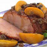 Spiral Sliced Ham with Orange Pineapple Glaze - Lemon Thyme and Ginger